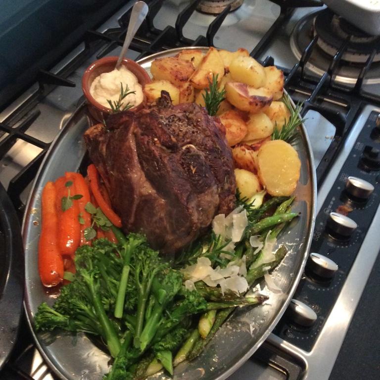 Roast Rib of Beef