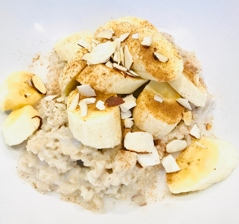 Almond & Banana Porridge